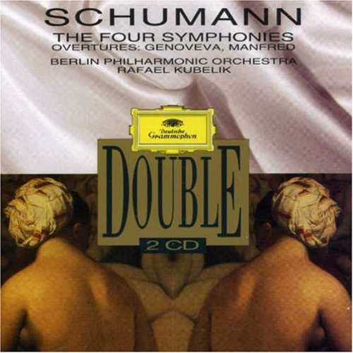 Kubelik Berlin Philharmonic Or Double Schumann 4 Symphonies 2 CD Kubelik Berlin Phil