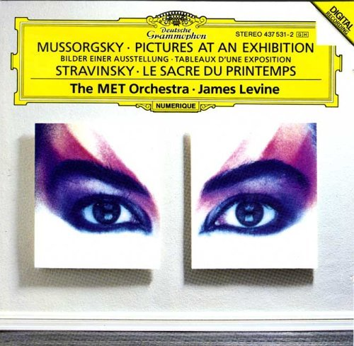 Mussorgsky Stravinsky Pictures Rite Of Spring Levine Metropolitan Opera Orch