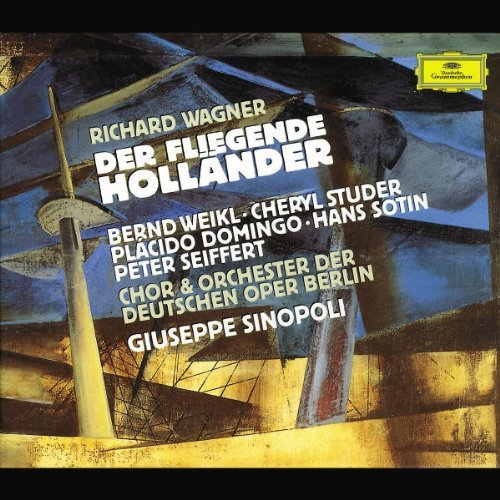 Richard Wagner Flying Dutchman Comp Opera Weikl Struder Domingo Sotin & Sinopoli Orch Deutsche Oper Be