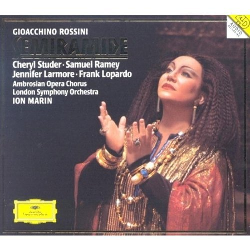 G. Rossini Semiramide Comp Opera Studer Ramey Larmore Lopardo Marin London So