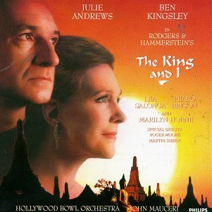 King & I Musical Andrews Kingsley Bryson Horne Mauceri Hollywood Bowl Orch