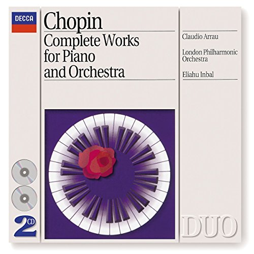 F. Chopin Complete Works For Piano & Orc Arrau Claudio (pno) Inbal London Po