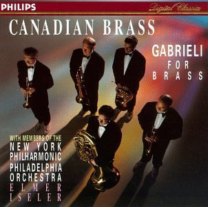 G. Gabrieli Gabrieli For Brass Iseler Various