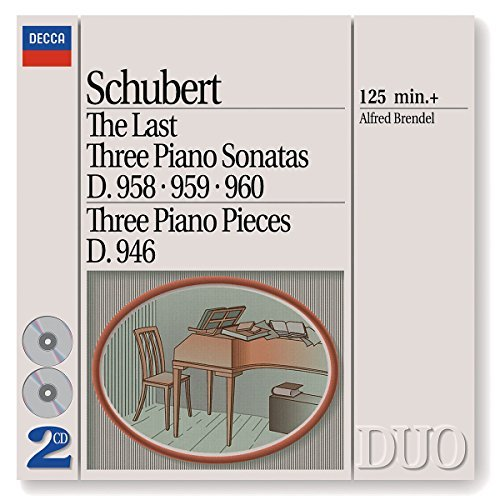 Alfred Brendel Last Three Piano Sonatas Three Brendel*alfred (pno) 2 CD