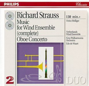 R. Strauss Music For Wind Ens Ct Oboe