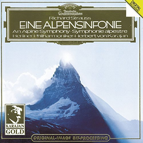 Richard Strauss Sym Alpine Karajan Berlin Phil