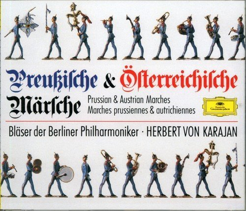 Karajan Berlin Philharmonic Or Prussian & Austrian Marches Import Gbr
