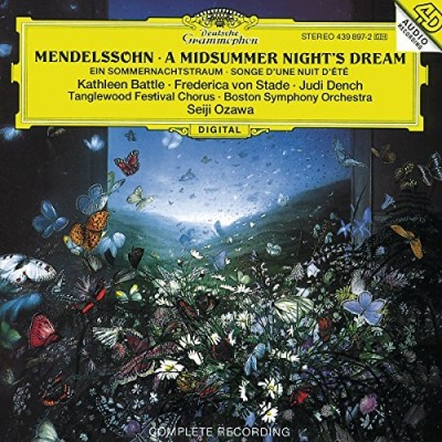Battle Ozawa Boston Symphony O Midsummer Night's Dream Battle Von Stade Dench Ozawa Boston So