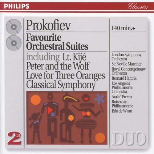 Favorite Orchestral Suites Favorite Orchestral Suites 2 CD Various