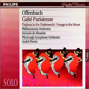 Gaite Parisienne Orpheus In Th Gaite Parisienne Orpheus In Th Previn & Almeida Various