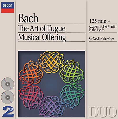 Marriner Academy Of St. Martin Art Of Fugue Musical Offering 2 CD Marriner Asmf