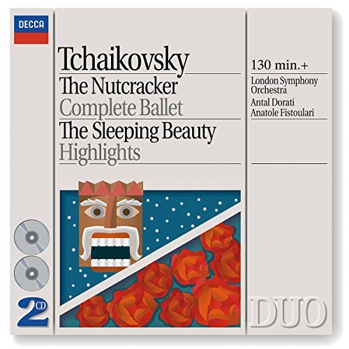 Pyotr Ilyich Tchaikovsky Nutcracker Comp Sleeping Beaut 2 CD Dorati & Fistoulari Various