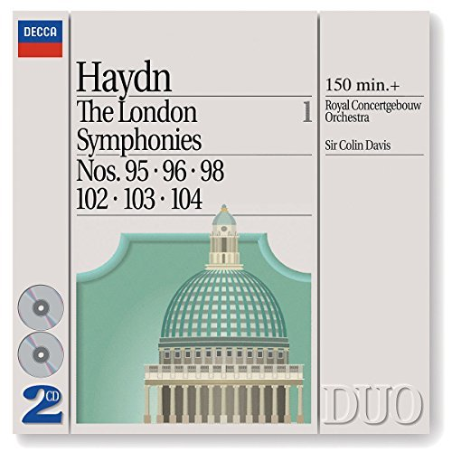 Davis Royal Concertgebouw Orch London Symphonies Vol. 1 95 9 2 CD Davis Royal Concertgebouw Orch