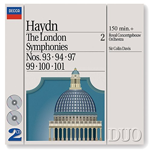 Davis Royal Concertgebouw Orch London Symphonies Vol. 2 93 9 2 CD Davis Royal Concertgebouw Orch