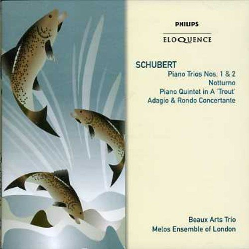 Beaux Arts Trio Melos Ensemble Schubert Piano Trios 1 & 2 Import Aus 2 CD Set