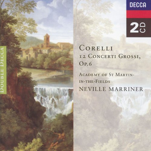 Marriner Academy Of St. Martin 12 Concerti Grossi Op. 6 2 CD Marriner Asmf