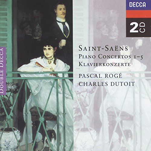 Pascal & Charles Dutoit Roge Piano Concertos 1 5 Roge*pascal (pno) Dutoit Various