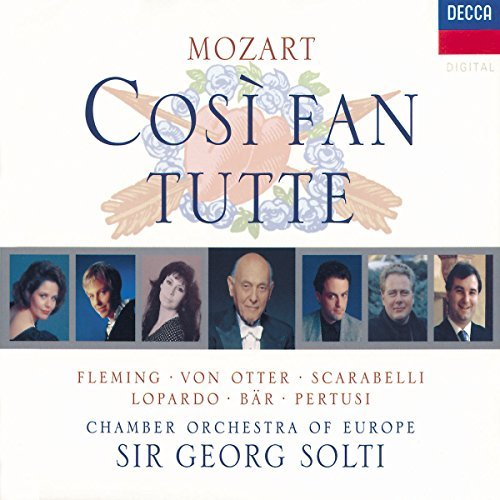 Fleming Solti Chamber Orch. Of Cosi Fan Tutte Fleming Von Otter Lopardo Bar Solti Co Of Europe