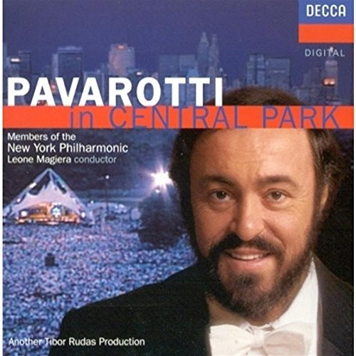 Luciano Pavarotti Pavarotti In Central Park Pavarotti (ten) Magiera New York Po