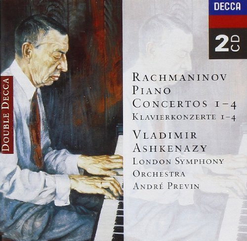 Ashkenazy Previn London Sympho Piano Concertos 1 4 Ashkenazy*vladimir (pno) Previn London So