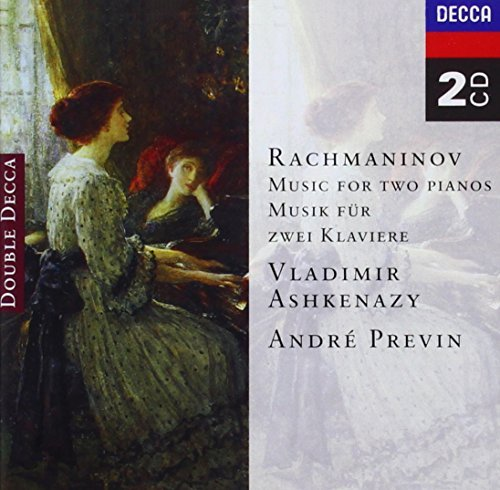 Vladimir & Andre Pre Ashkenazy Music For Two Pianos Ashkenazy (pno) Previn (pno) 2 CD