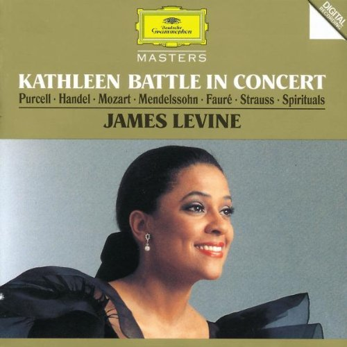 Battle Kathleen Kathleen Battle In Concert Battle (sop) Levine (pno)
