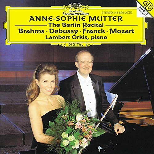 Mutter Anne Sophie Berlin Recital Mutter (vn) Orkis (pno)