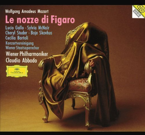 W.A. Mozart Marriage Of Figaro Comp Opera Gallo Mcnair Skovhus Studer + Abbado Vienna Phil