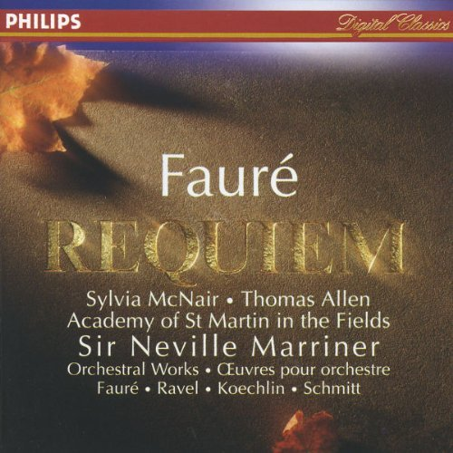 Mcnair Marriner Academy Of St. Requiem Op. 48 Pavane Op. 50 Mcnair Allen Birch Marriner Asmf