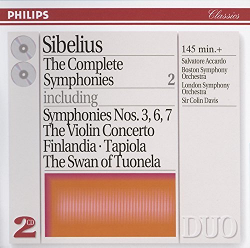 Davis Boston Symphony Orch. Complete Symphonies Ii 3 6 7 Accardo*salvatore (vn) Davis Various