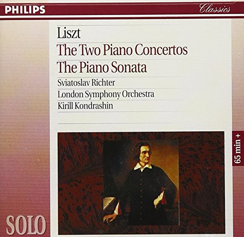 Richter Kondrashin London Symp Liszt The Two Piano Concertos Richter*sviatoslav (pno) Kondrashin London So