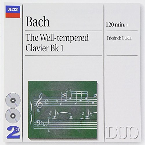 Friedrich Gulda Well Tempered Clavier Book 1 Gulda*friederich (pno) 2 CD