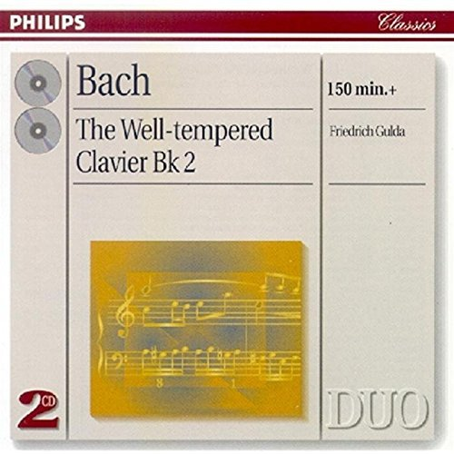 Friedrich Gulda Well Tempered Klavier Book 2 Gulda*friederich (pno) 2 CD