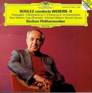 Pierre Boulez Conducts Webern Ii Boulez Berlin Phil