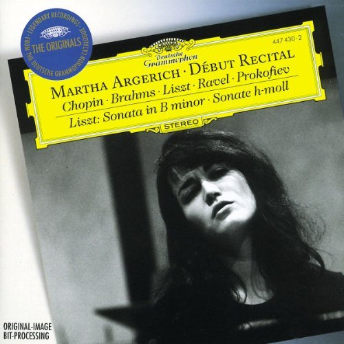 Martha Argerich Debut Recital (originals) Argerich (pno)