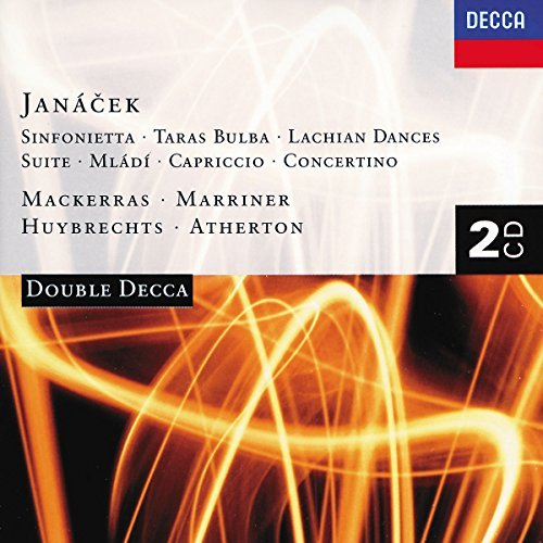 Janacek L. Sinfonietta Tarus Bulba Mladi Huybrechts Marriner Crossley + 2 CD Set