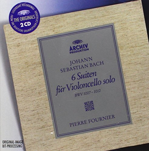 Pierre Fournier Six Suites For Solo Cello (ori Fournier*pierre (vc) 2 CD