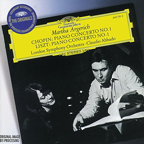 Argerich Martha Chopin Con Pno 1 Liszt Con Pno 1 Abbado London So