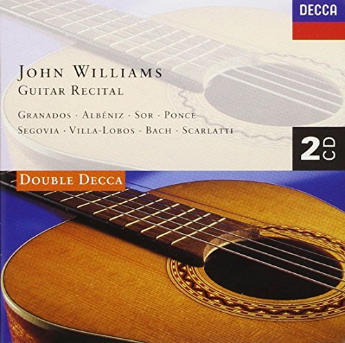 Williams John Guitar Recital Williams (gtr) 2 CD Set