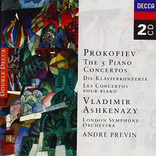Ashkenazy Previn London Sympho Piano Concertos 1 5 Ashkenazy (pno) Previn London So