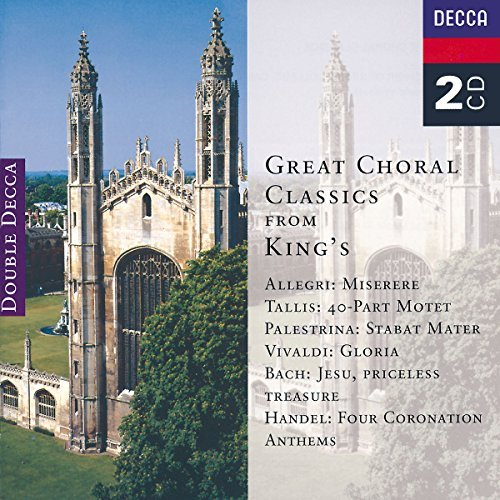 Great Choral Classics From Kin Great Choral Classics From Kin Vivaldi Allegri Tallis Bach Palestrina Handel