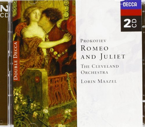 Maazel Cleveland Orch. Romeo & Juliet 2 CD Maazel Cleveland Orch