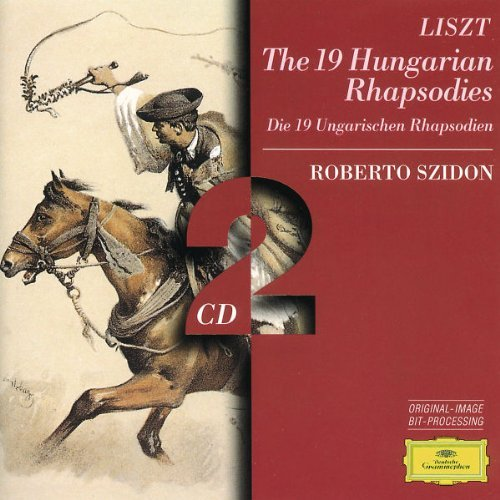 F. Liszt 19 Hungarian Rhapsodies Szidon*roberto (pno) 2 CD Set