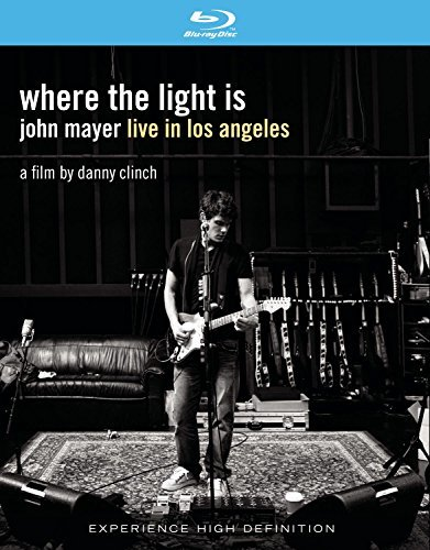 John Mayer Where The Light Is John Mayer Clr Blu Ray Digipak