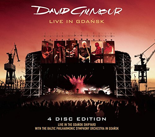 David Gilmour Live In Gdansk 2 CD Incl. 2 DVD