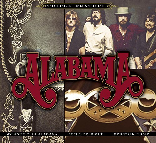 Alabama Triple Feature Softpack 3 CD