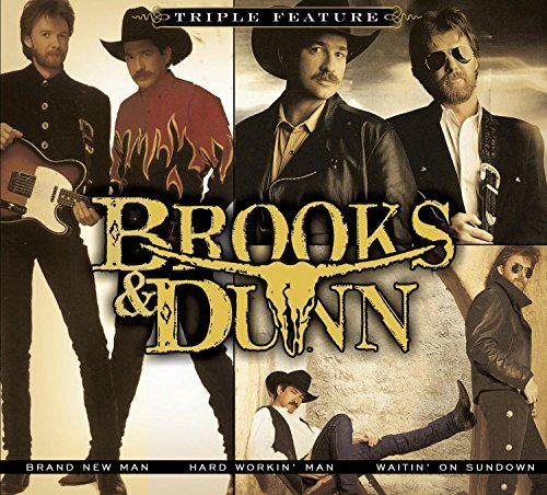 Brooks & Dunn Triple Feature Softpack 3 CD