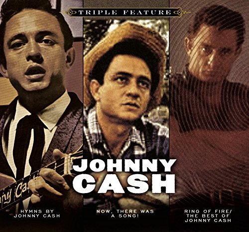 Johnny Cash Triple Feature Softpack 3 CD