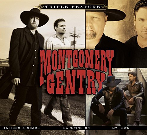 Montgomery Gentry Triple Feature Softpack 3 CD
