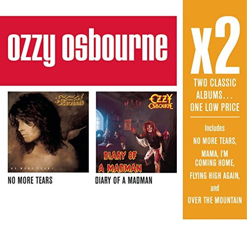 Ozzy Osbourne X2 (no More Tears Diary Of A M 2 CD Set Slipcase